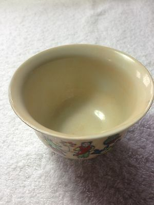 Antique Chinese Porcelain Famille Rose Bowl Signed