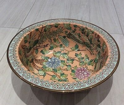 Chinese Antique Hand Painted Bowl