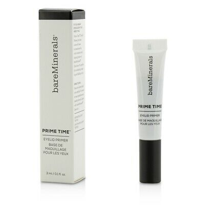 NEW BareMinerals Prime Time Eyelid Primer (New Packaging) 3ml Womens Makeup