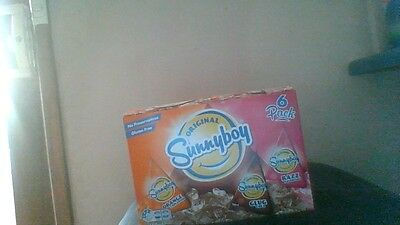original sunnyboy's orange, cola, rasberry 6x150ml 6 pack