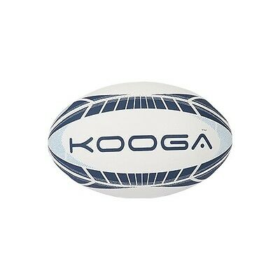 Kooga Dunedin Rugby Training Ball Navy/ White Size 4