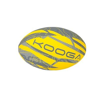 Kooga Welford Rugby Training Ball Dandelion Yellow Size 5