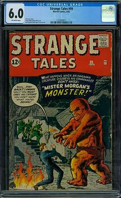 Strange Tales 99 CGC 6.0 - OW Pages - Lee/Kirby/Ayers/Ditko/Heck