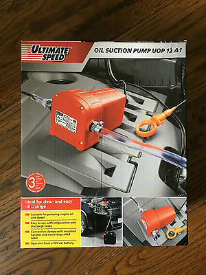 Oil Suction Pump for Smart Fortwo and other Cars - less than half price - *NEW*