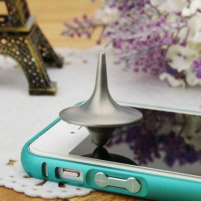 Between Mini Hot Children Print Metal Sale Totem Spinning Alloy Top Silver