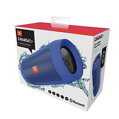 JBL Charge 2+ Rechargeable Wireless Bluetooth Mobile Phone Speaker (BLUE)