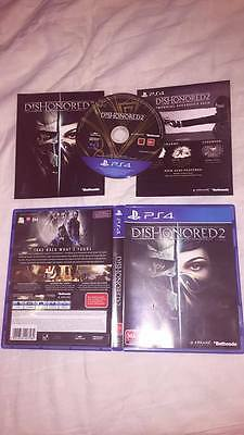 Dishonored 2 Ps4 New Not Sealed