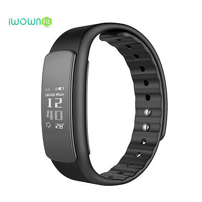 IWOWN Sport I6 HR Bluetooth Heart Rate Sport Smart Band Wrist For Android IOS