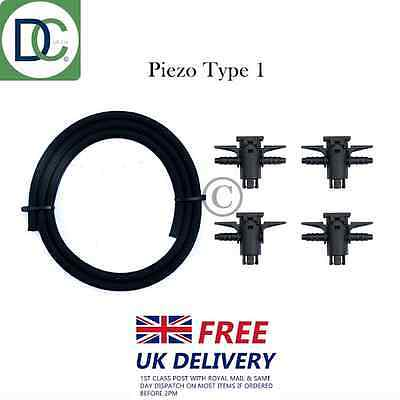 Bosch Piezo Injectors Back Leak Off Connector Kit for Mercedes Vito 111 CDI