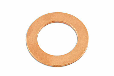 Connect 31715 Sump Plug Washer-Copper 16.3 x 25 x 2.0mm Pk 50