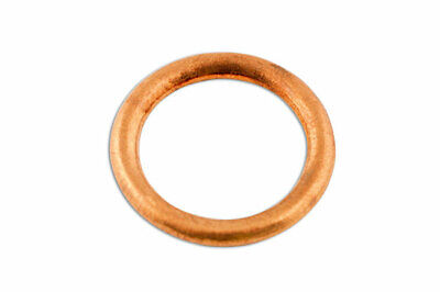 Connect 31716 Sump Plug Washer-Copper 14 x 19 x 2.0mm Pk 50