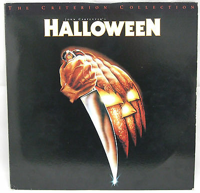 Halloween THE CRITERION EDITION Laser Disc Set - USA - FREE POSTAGE