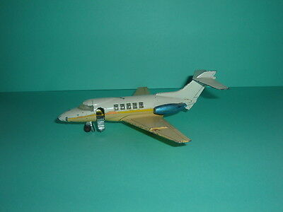 Vintage Dinky No. 723 Hawker Siddeley H.s. 125 Executive Jet - Play Worn Con.