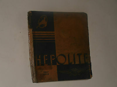 Hepolite July 1939 Parts Catalogue Motor Cycles,cars Commercial Vehicles