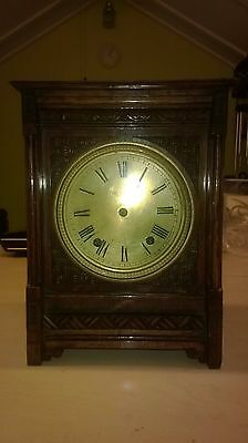 antique mantle clock case