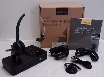 2016 GN Netcom Jabra Pro 9450 Noise Cancelling Wireless Telephone Headset