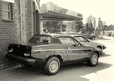 New Black Triumph Tr7 Special Edition Fixedhead Photo Taken Henlys Late 1970's