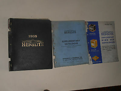 Hepolite  1955 Parts Catalogue Motor Cycles,cars Commercial Vehicles
