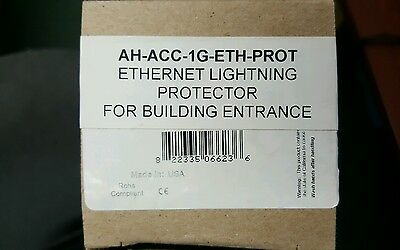 LO OF 4 HGLN-CAT6-HP  Ethernet Lightning Protector for HiveAP 330/350/170