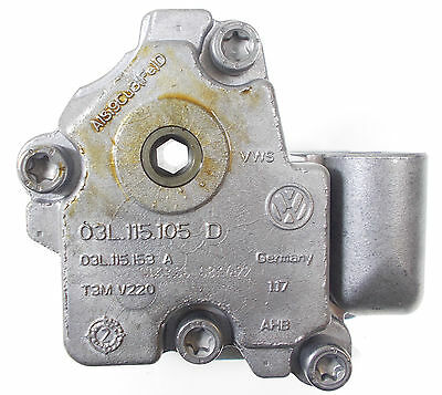 New Genuine Vw Audi Seat Skoda 2.0 Tdi Engine Oil Pump - 03L 115 105 D