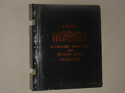Hepolite  1962 Parts Catalogue Motor Cycles,cars Commercial Vehicles