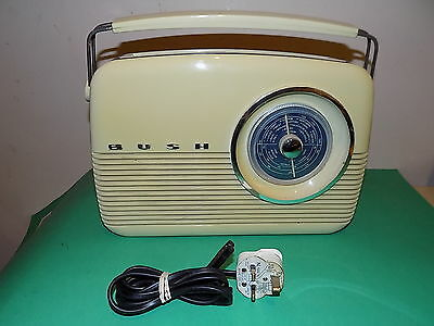 BUSH Antique Style 3 Band Traditional Radio Vintage style TR82 Beige