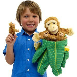 Monkey Hand Puppet by The Puppet Company