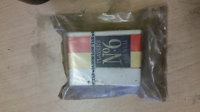 vintage packet of players no6 nsm low tar. rare