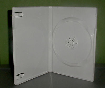 Single White DVD Case - Package of 5 Cases