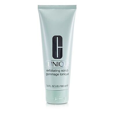 NEW Clinique Exfoliating Scrub 100ml Womens Skin Care