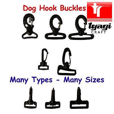Snap Hook Buckles Plastic Webbing Strap Luggage 25mm-50mm Bag Connector Clasp