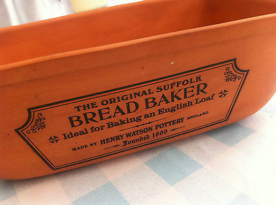 Henry Watson Original Suffolk Bread Baker Terracotta Dish