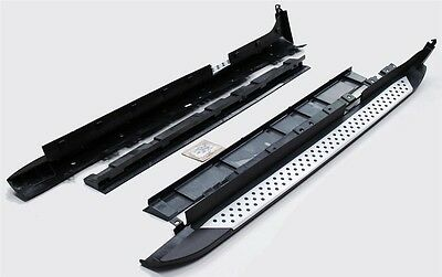 For BMW X3 F25 2010 - 2017 Side Steps Running Boards Set