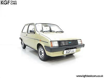 A Remarkable very Early Austin Mini Metro with 5,823 Miles from New