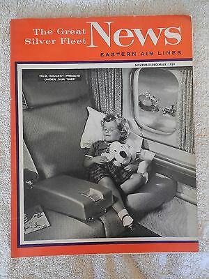 Eastern Airlines The Great Silver Fleet News Magazine Nov. Dec. 1959