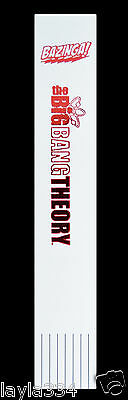 Big Bang Theory Bazinga - Bonded Leather Bookmark with Red Foil. Sheldon Cooper