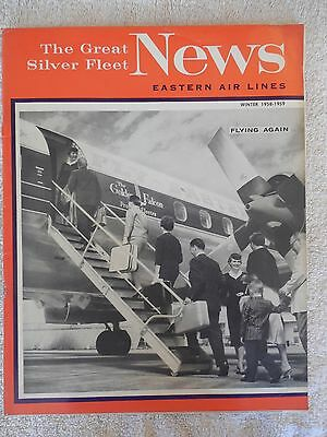 Eastern Airlines The Great Silver Fleet News Magazine Winter 1958-1959