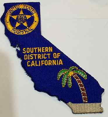 USMS United States Marshal Service Southern District of California Cloth Patch