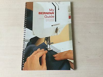 BERNINA 1130/1120 sewing machine instructions/manual**excellent condition**