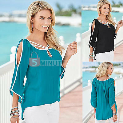 Fashion Women Summer Loose Top Short Sleeve Blouse Lady Casual Tops T-Shirt