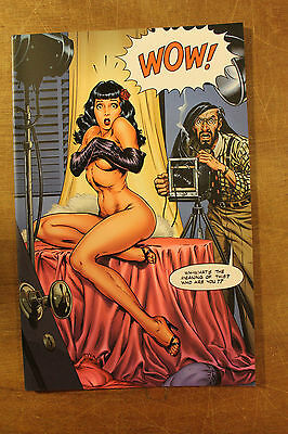 ROCKETEER ADVENTURES #1 Dave Stevens Tribute Edition SEXY Bettie Page IDW pub