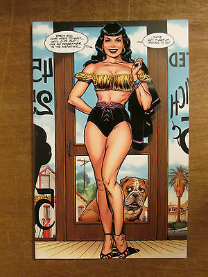 ROCKETEER CARGO OF DOOM #1 Dave Stevens Tribute Edition SEXY Bettie Page IDW pub
