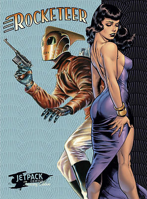 ROCKETEER JETPACK TREASURY EDITION XX limited Bettie Page Edition Dave Stevens