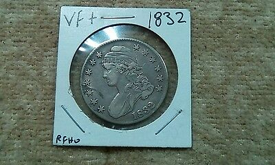 1832 Capped Bust Half Dollar - Very Fine