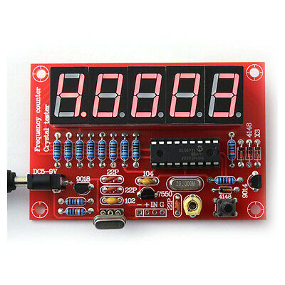 H623 50 MHz Crystal Oscillator Frequency counter Testers DIY Kit 5 Resolution