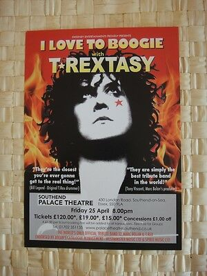 T Rextasy - Marc Bolan Tribute Show 2014