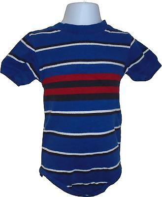USED Boys Gymboree Blue Poppers Top Size 18-24 Months (M.Z)