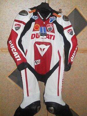 Ducati Motorbike Leather Suit Motorcycle Leather Suit MotoGP Leather CE-Approved