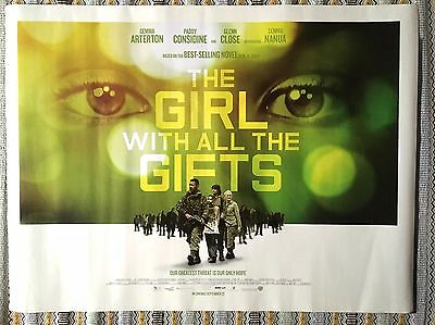 The Girl With All The Gifts Original Quad Cinema Poster 2016 Paddy Considine