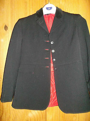 Childs Black  Harry Hall Riding Jacket
